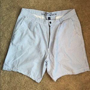 Men's searsucker shorts